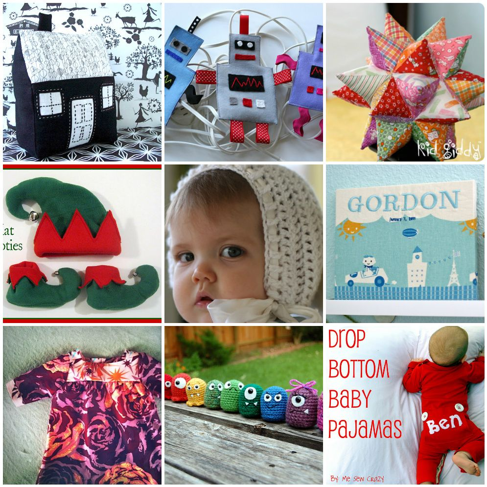25 DIY Gifts for Baby's First Christmas | Diy baby gifts ...