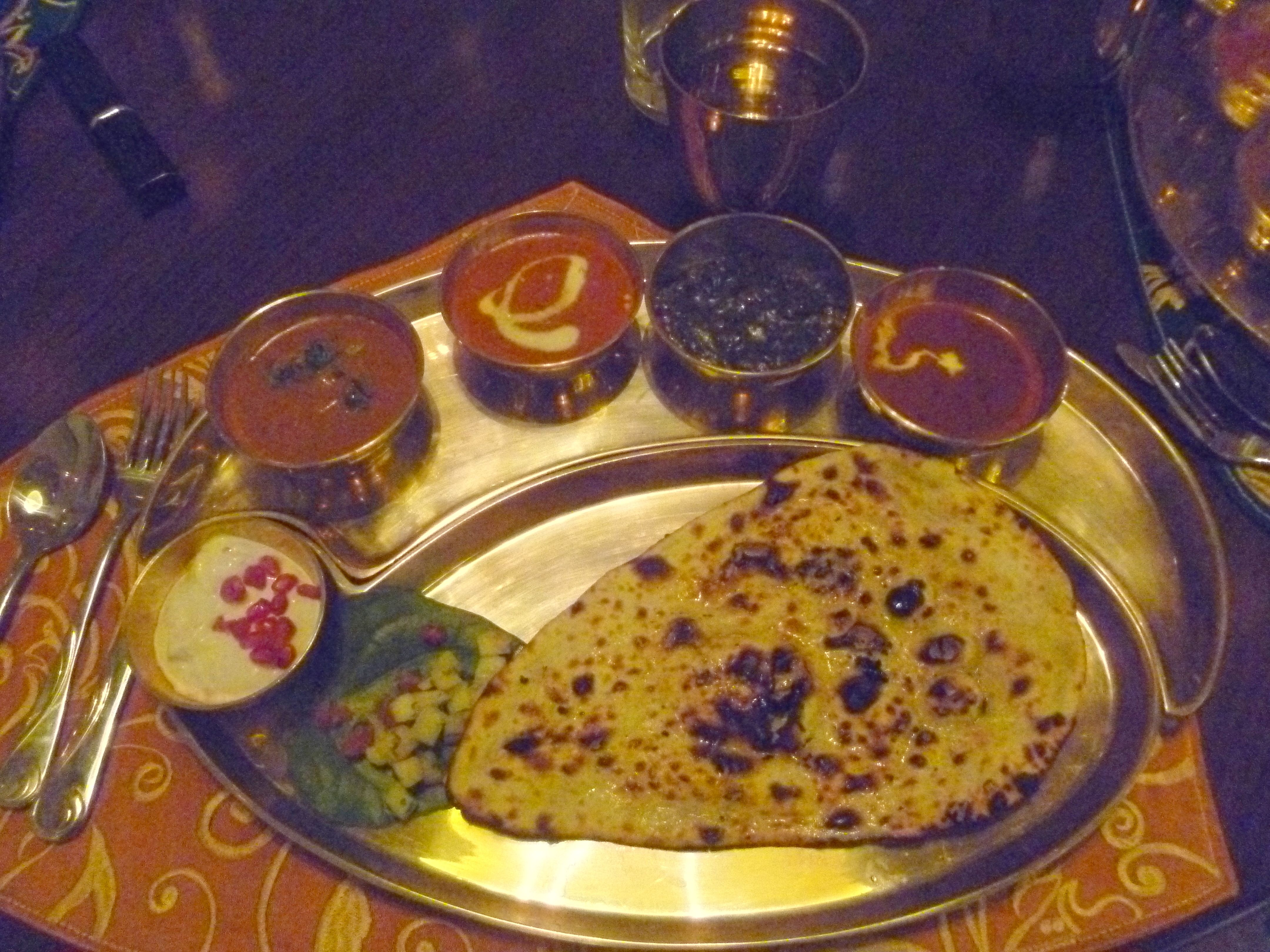 Agra - Thali  meal