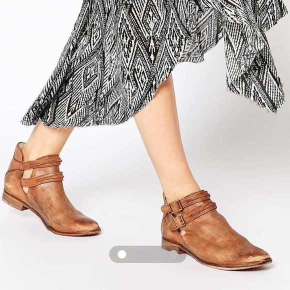 Buy Women Shoes / Free People Braeburn Double Strap Ankle Boots