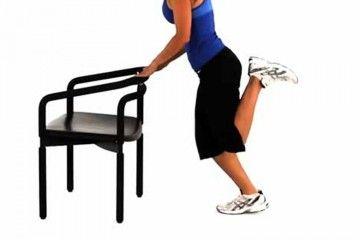 how to do butt kicker exercise health pinterest