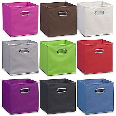 STORAGE BOX Box Folding Box FOLDING BASKET TRAY BASKET FLEECE Insert Folding  Box