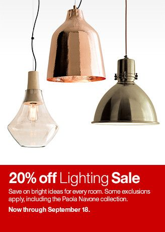 crate and barrel lighting fixtures. Twenty Percent Off Lighting Sale. Sale, Crate And Barrel Fixtures