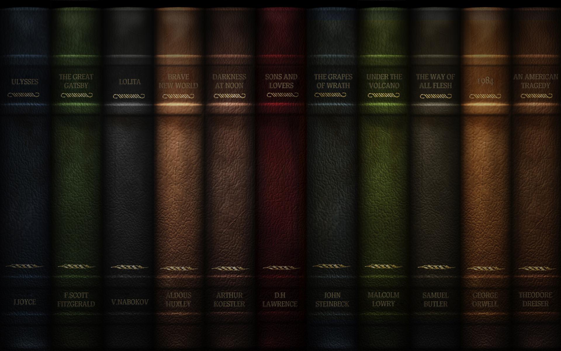 Books Desktop Wallpaper 1920x1200
