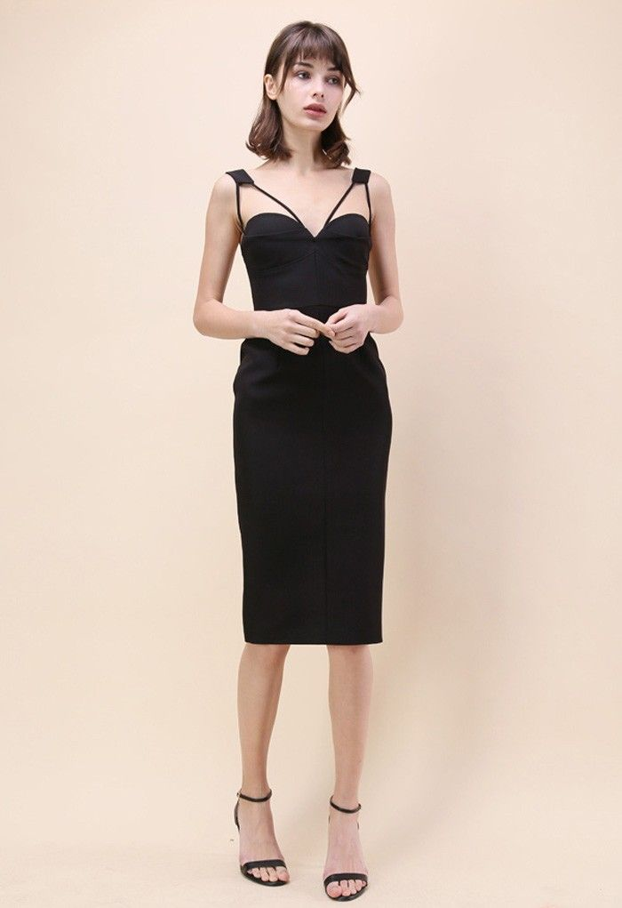 6ee13af94fbbe4 Give your figure a little more sauce with this slick-fitted My Style Recipe  bodycon