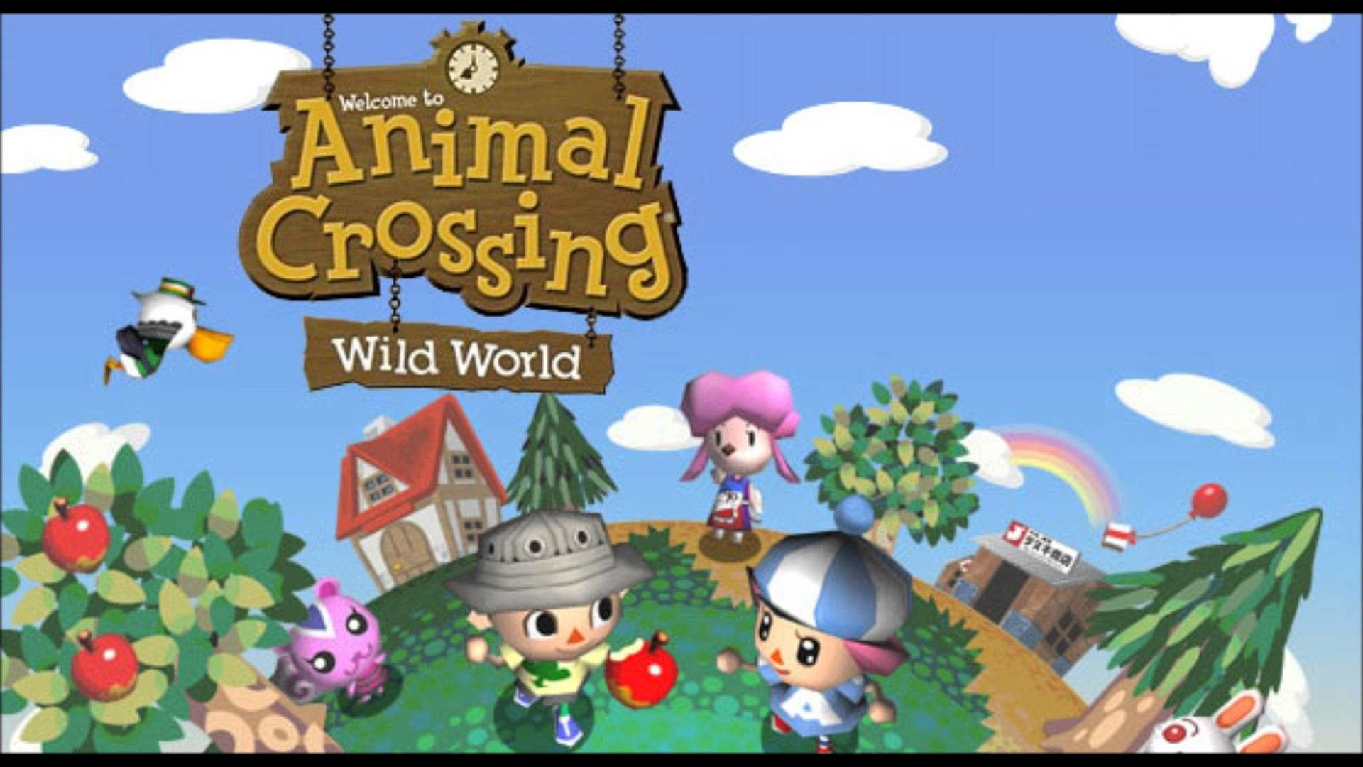 Amazing Animal Crossing Background Hd Pictures In 2021 Animal Crossing Animal Valentine Animal Crossing Wild World