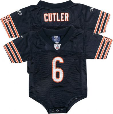 separation shoes be4c1 fa875 Jay Cutler Navy Reebok NFL Chicago Bears Infant Jersey ...