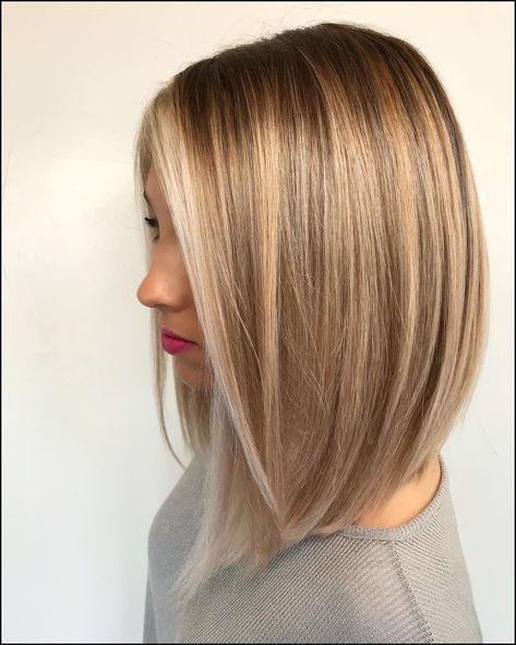 80 sensationelle mittellange Haarschnitte für dickes Haar | Balayage … #Frisuren … – Mary Haircuts