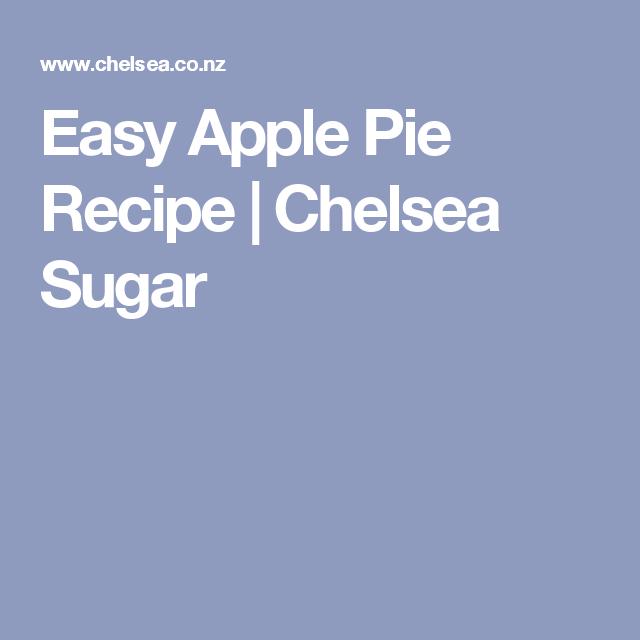 Easy Apple Pie Recipe | Chelsea Sugar