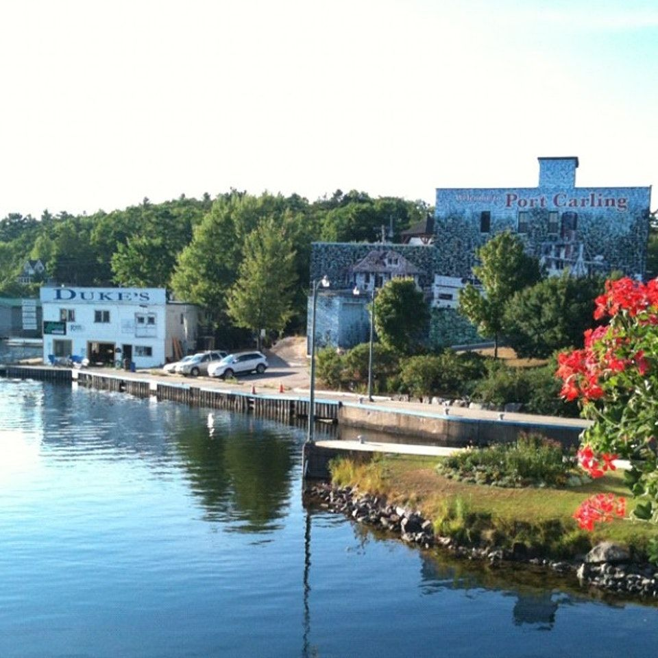 Town in Port Carling, ON Canada photos, Most beautiful