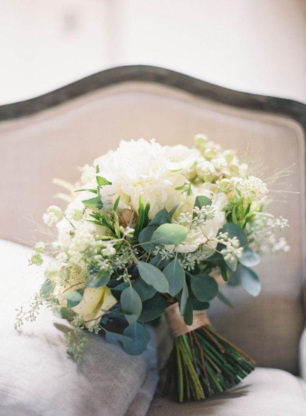 Modern  Chic Los Angeles Wedding  Wedding Bouquets