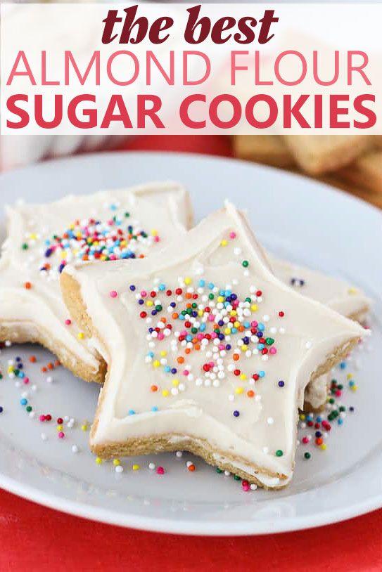 The Best Almond Flour Sugar Cookies (Gluten-Free, Grain-Free)
