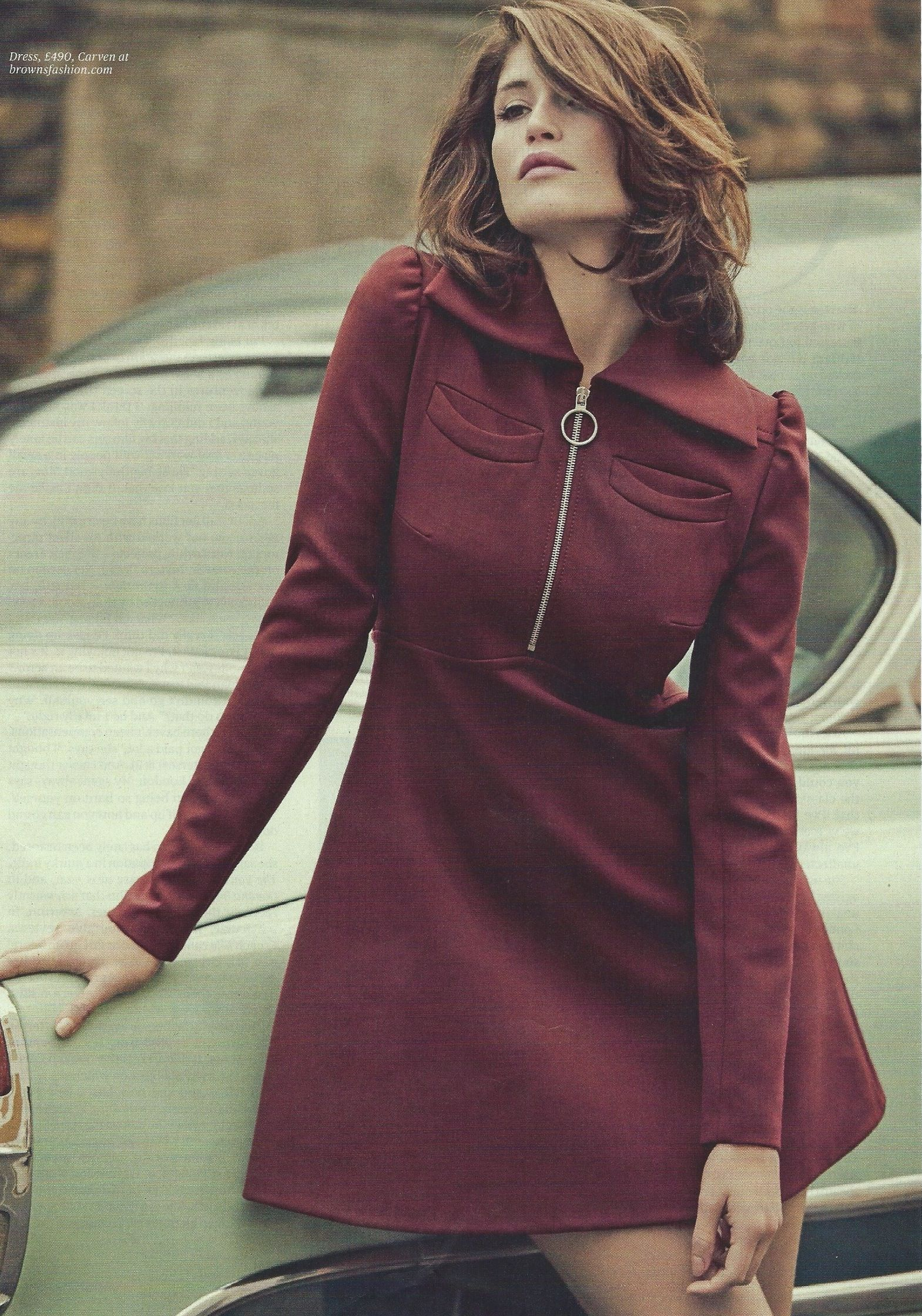Gemma Arterton for ES magazine, 31/10/14