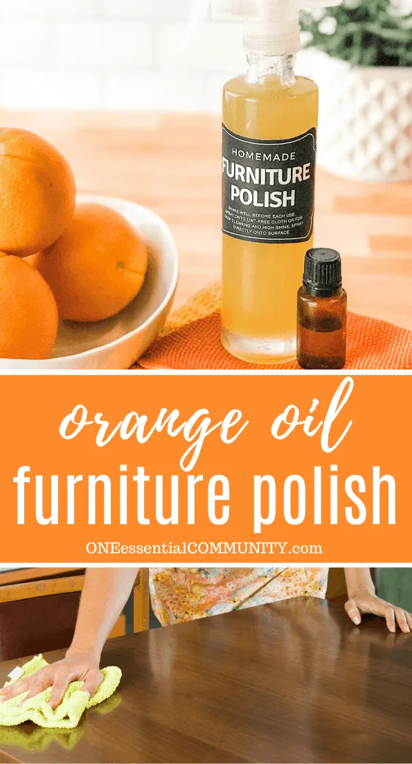 Homemade Furniture Polish Diy furniture polish, Homemade