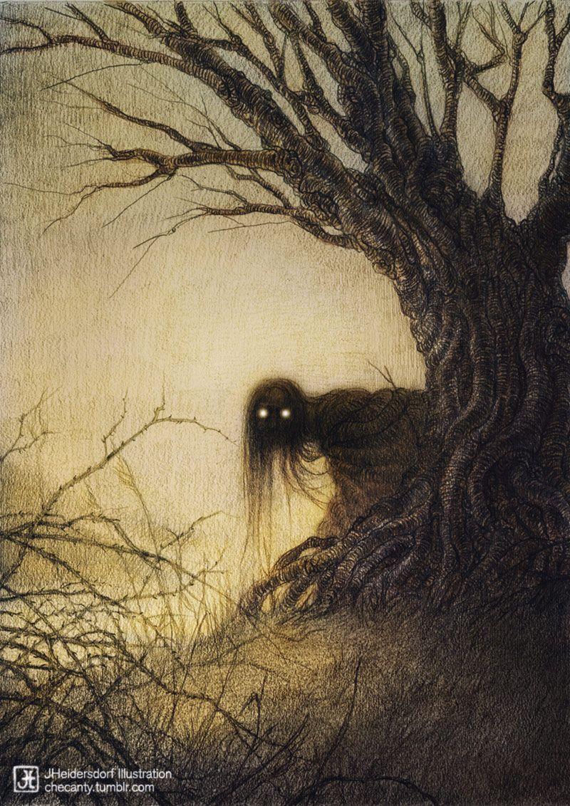 Banshee Kelpie By Jana Heidersdorf Scary Because Something Is