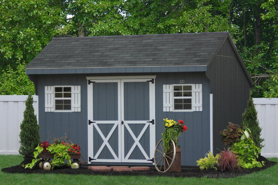 Buy Backyard Wooden Sheds And Barns Pa Nj Ny Ct De Md Va Wv And Beyond Wooden Sheds Shed Plans Backyard Sheds