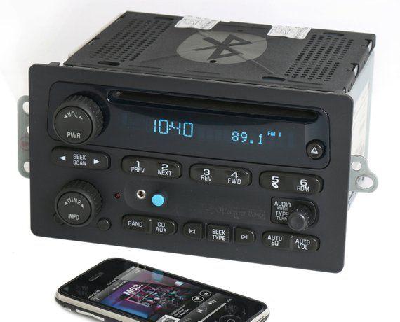 2005 To 09 Chevy Truck Cd Player Radio W Bluetooth Music Streaming Rhpinterest: 2005 Impala Radio Aux Input At Gmaili.net