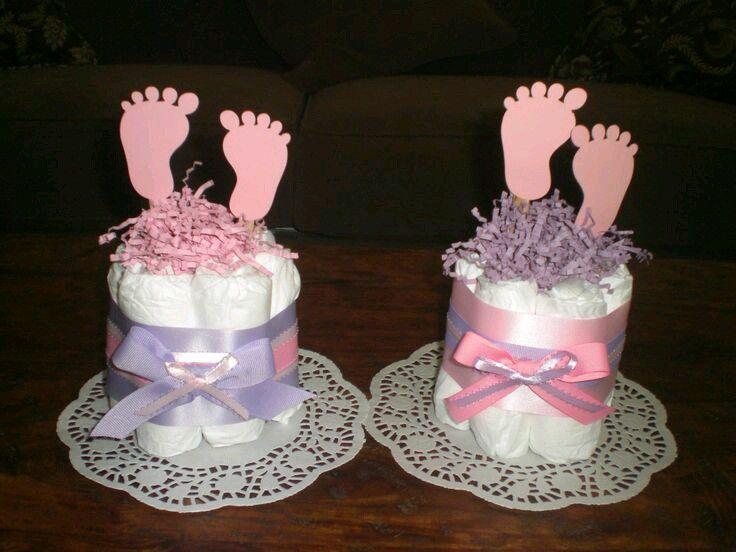 Si preparas un baby shower toma nota de estas lindas for Centros de mesa economicos