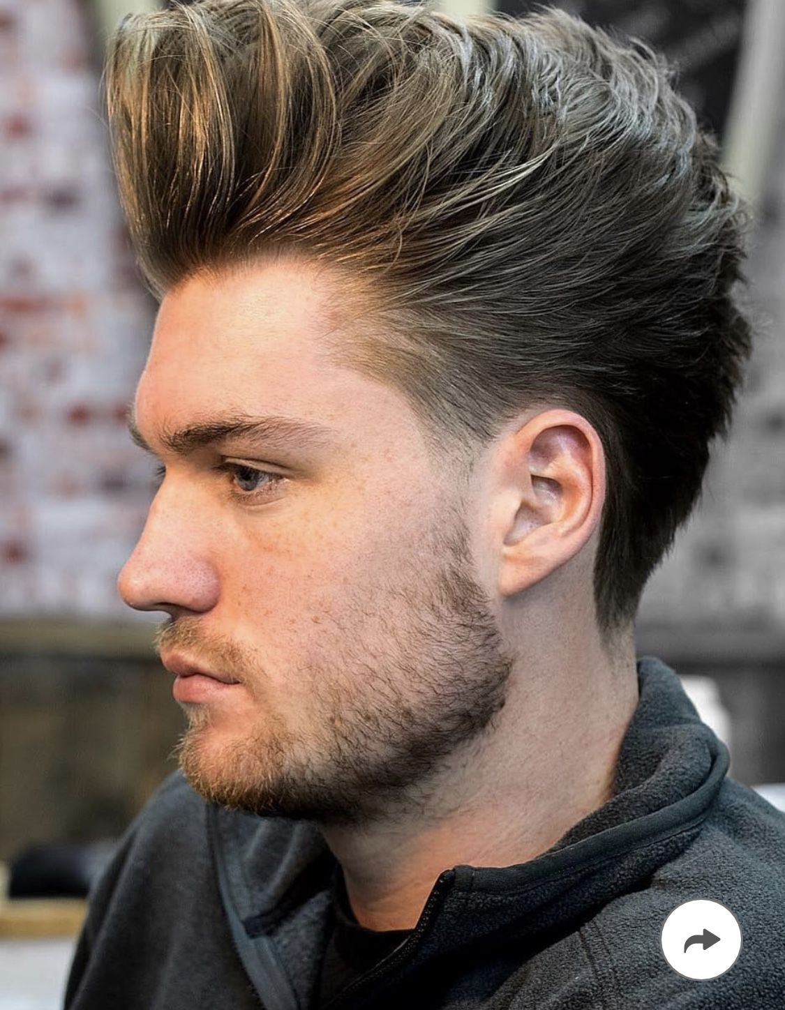Pin By Jacob Dean On Hairstyles Pompadour Haircut Long Hair Styles Men Side Part Haircut