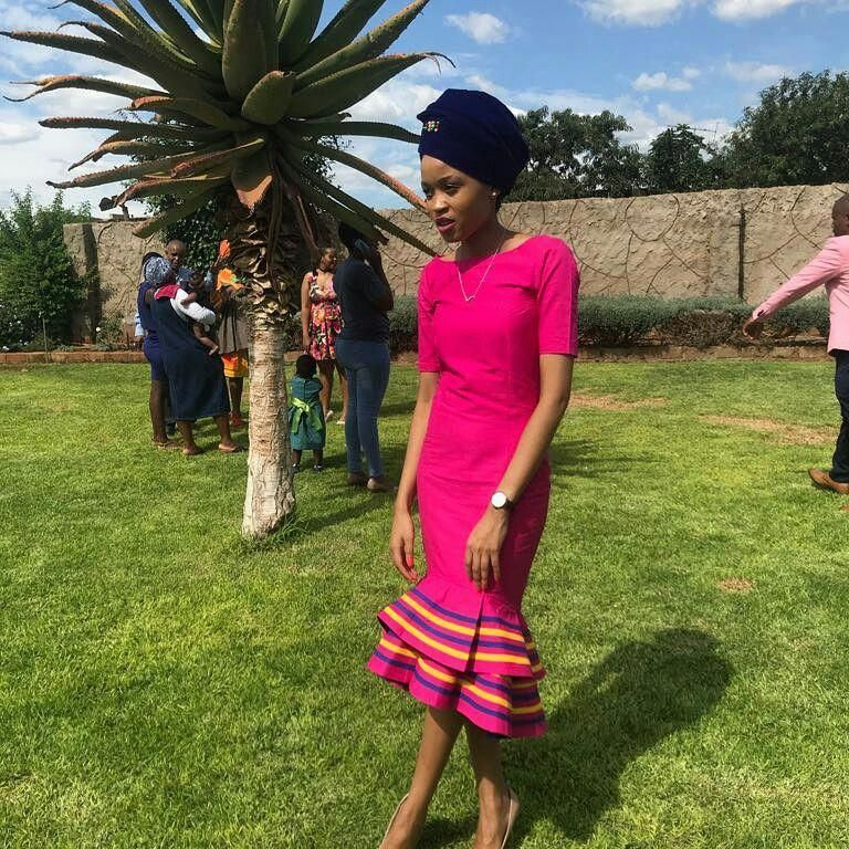 Venda Traditional Modern Dresses: Traditional African Fashion Pic# 2817