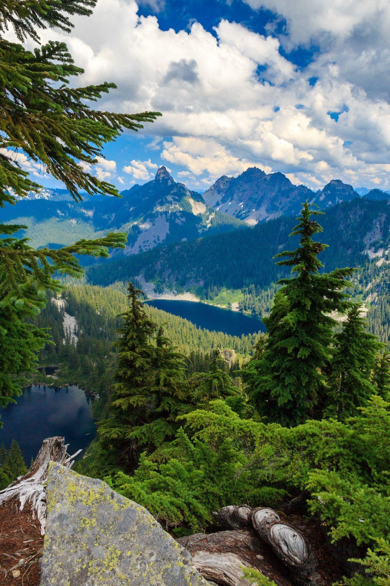 view from granite mountain washington state matt lichy places