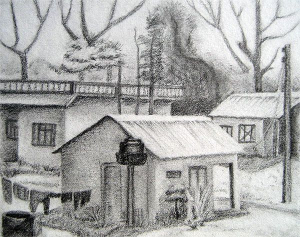 Landscape Pencil Sketches For Beginners