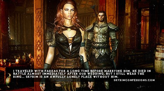 I traveled with Farkas for a long time before marrying him