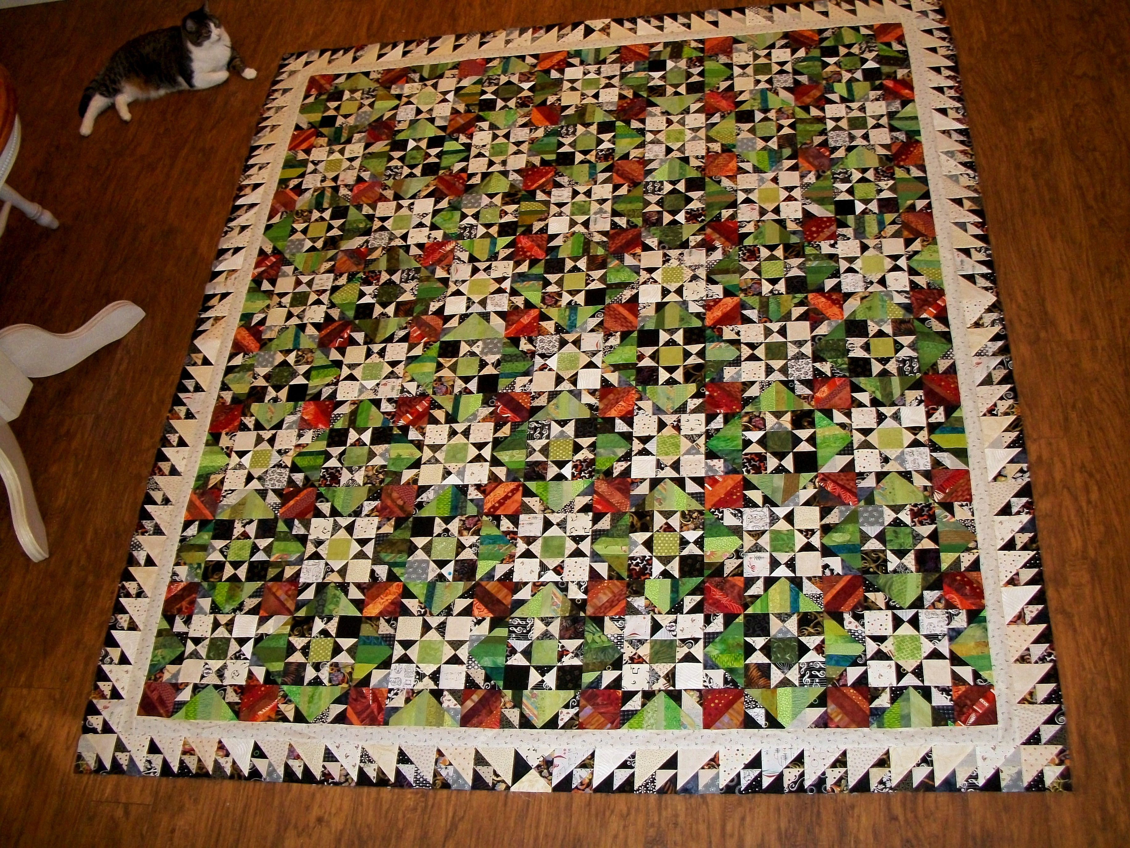 Orca Bay Mystery Quilt Pattern By Bonnie Hunter My