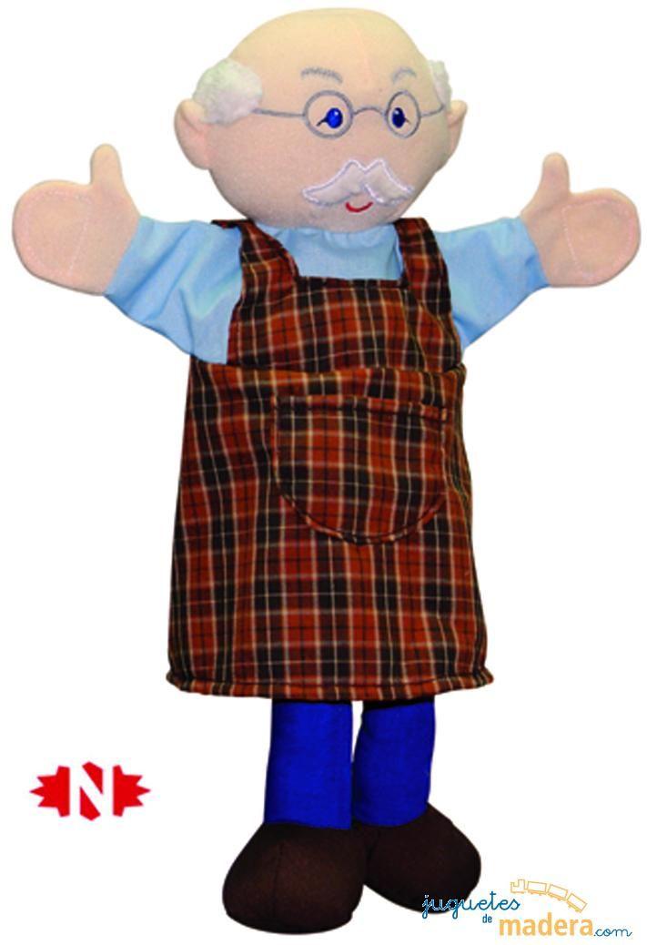 Marioneta de mano gepetto casa de mu eca pinterest - Como hacer marionetas de mano ...