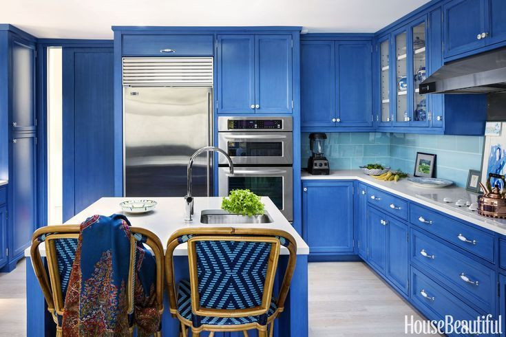 you'll be ready to repaint your house after seeing these blue