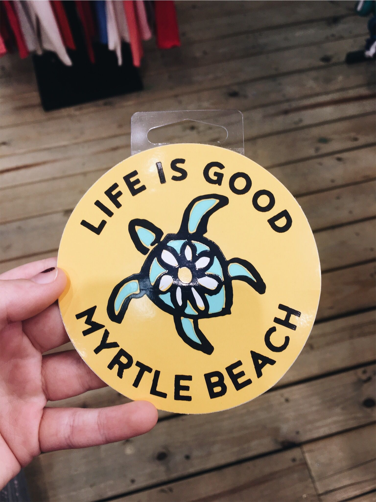 Myrtle Beach Sticker Aesthetic Stickers Laptop Stickers Cute