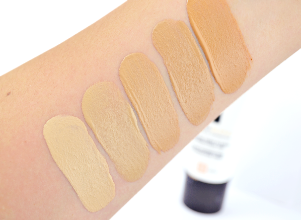 Vichy Dermablend Tips Tricks Dermablend Foundation Swatches Vichy