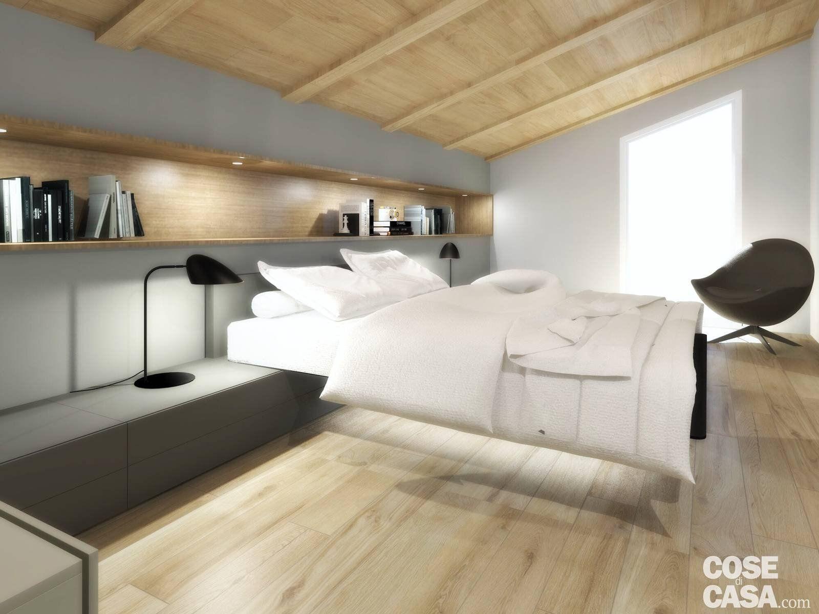 Cose La Camera Da Letto Padronale : Living open space nell appartamento con mansarda camere da letto