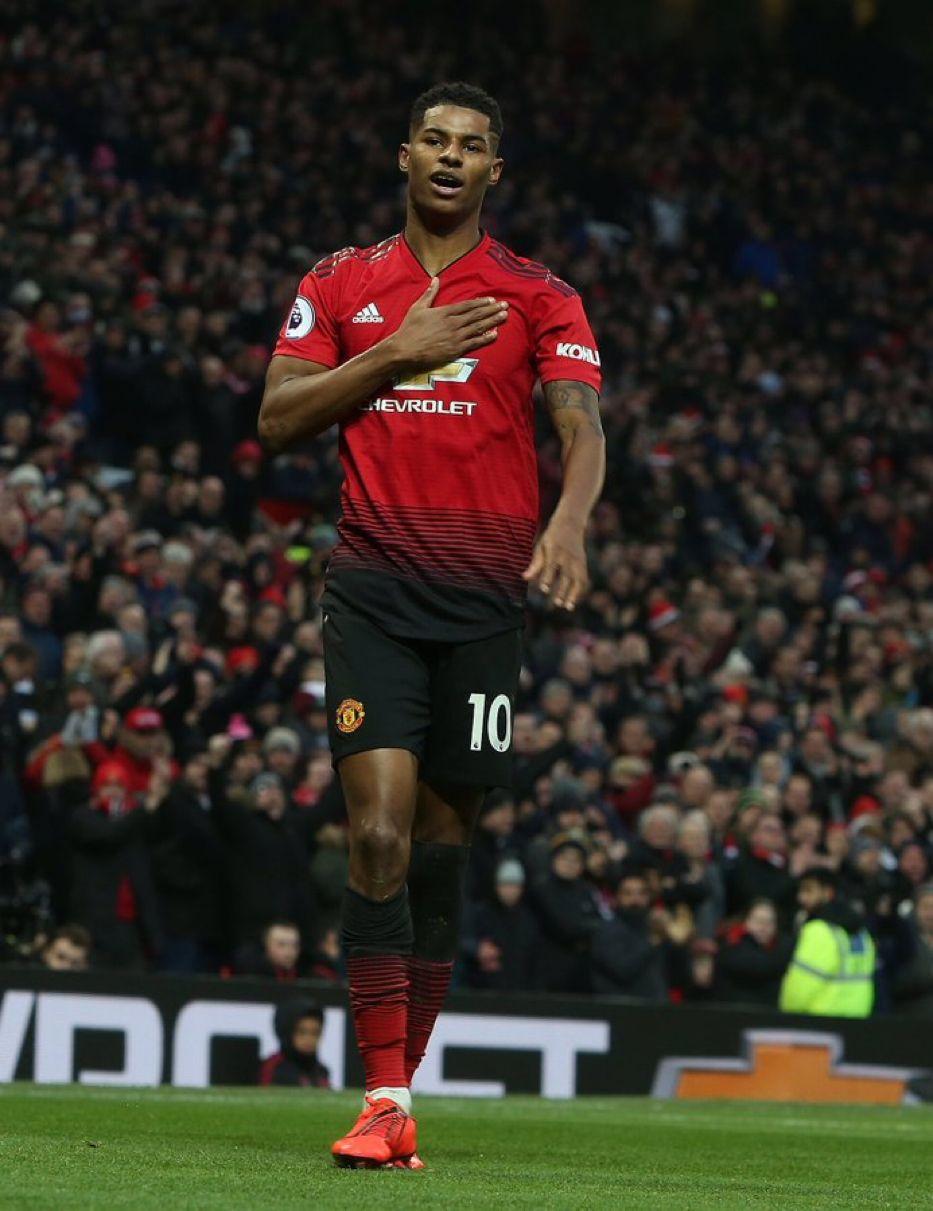 Marcus Rashford Goal In His 150th Match Manchester United Players Manchester United Manchester United Fans