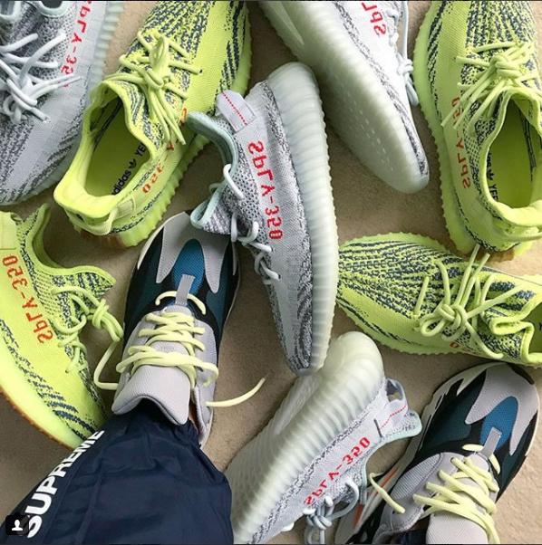 adidas yeezy frozen blue