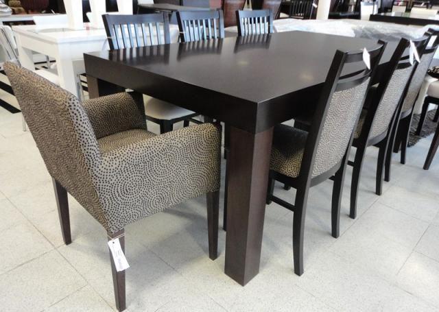 Mesa wide sill n sabrina tapizado tela silla n for Comedores tapizados