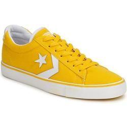 converse amarillas hombre