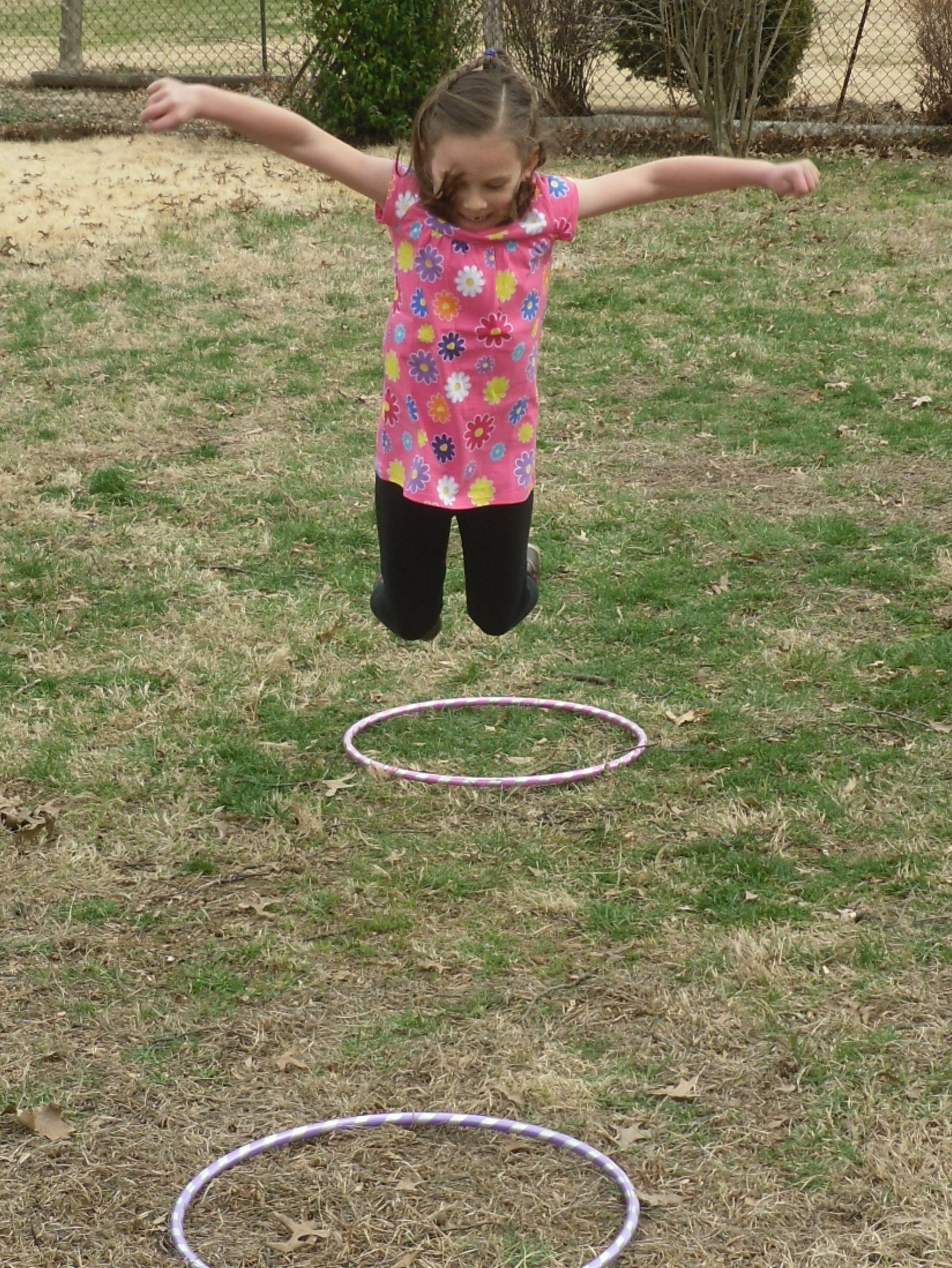 Jump! Easy backyard game for birthday parties or everyday ...