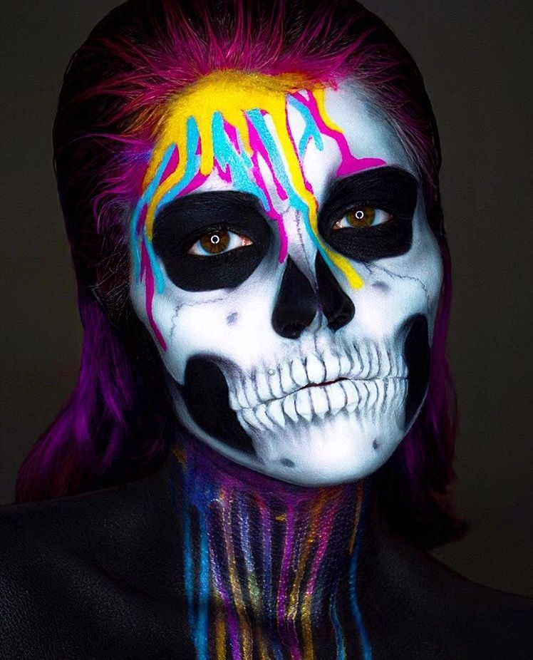 Halloween makeup artist image by Marcella ChavezRoy on