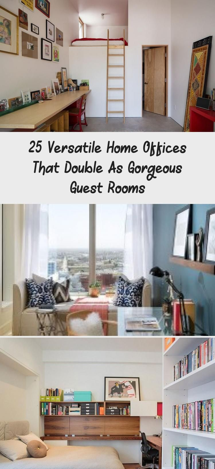 Guest Room Office Combo Ideas Beside