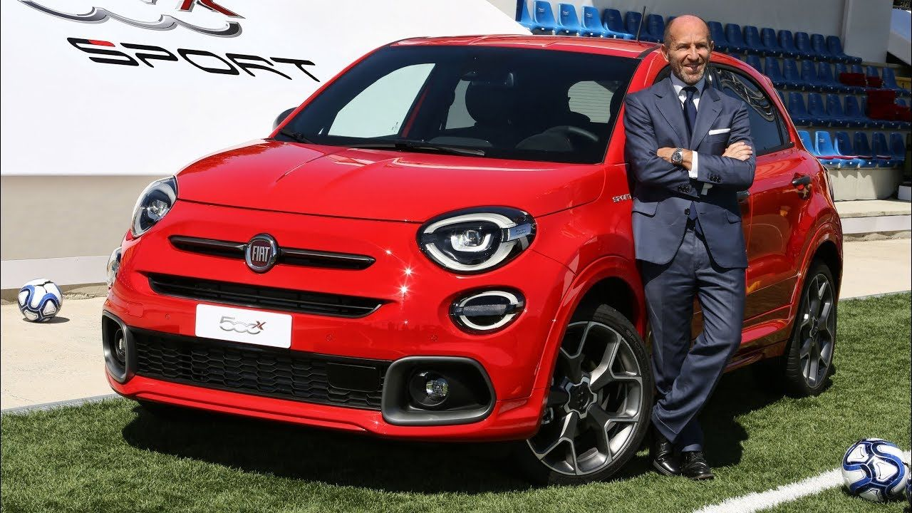 Luca Napolitano Reveals Highlights Of New Fiat 500x Sport