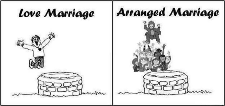 #LoveMarriage  #ArrangeMarriage