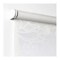 IKEA - LISELOTT, Rullegardin, 120x195 cm, , Rullegardinet er uden snor og dermed ekstra sikkert for børn.Kan monteres på indersiden eller ydersiden af vinduesrammen eller i loftet.Du kan klippe højre side af rullegardinet til (op til 20 cm), så det passer til dit vindue.