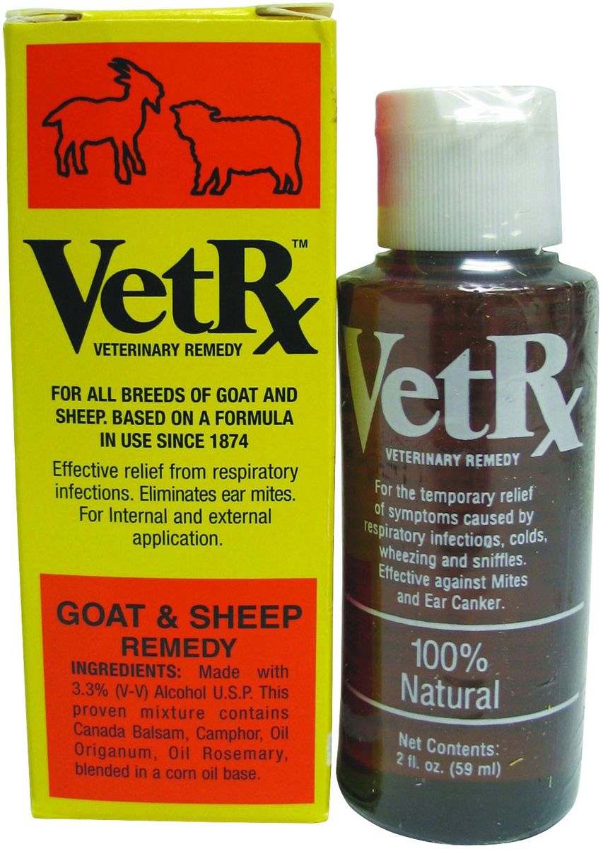 VetRx Goat and Sheep Remedy 2 oz