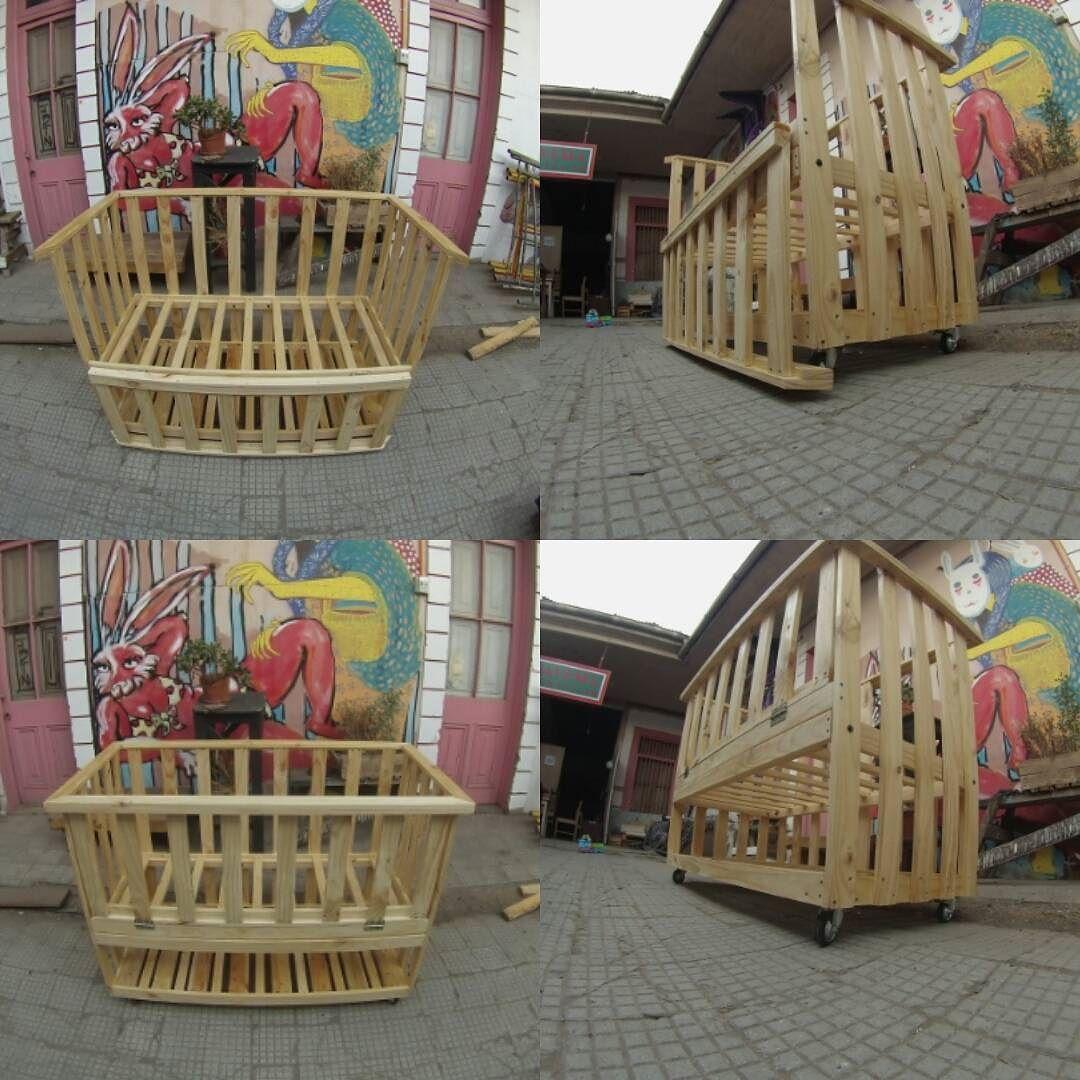 Bicicletero Pi A Madera Woodwork Handmade Wood Woodworking  # Muebles Gacitua Santiago