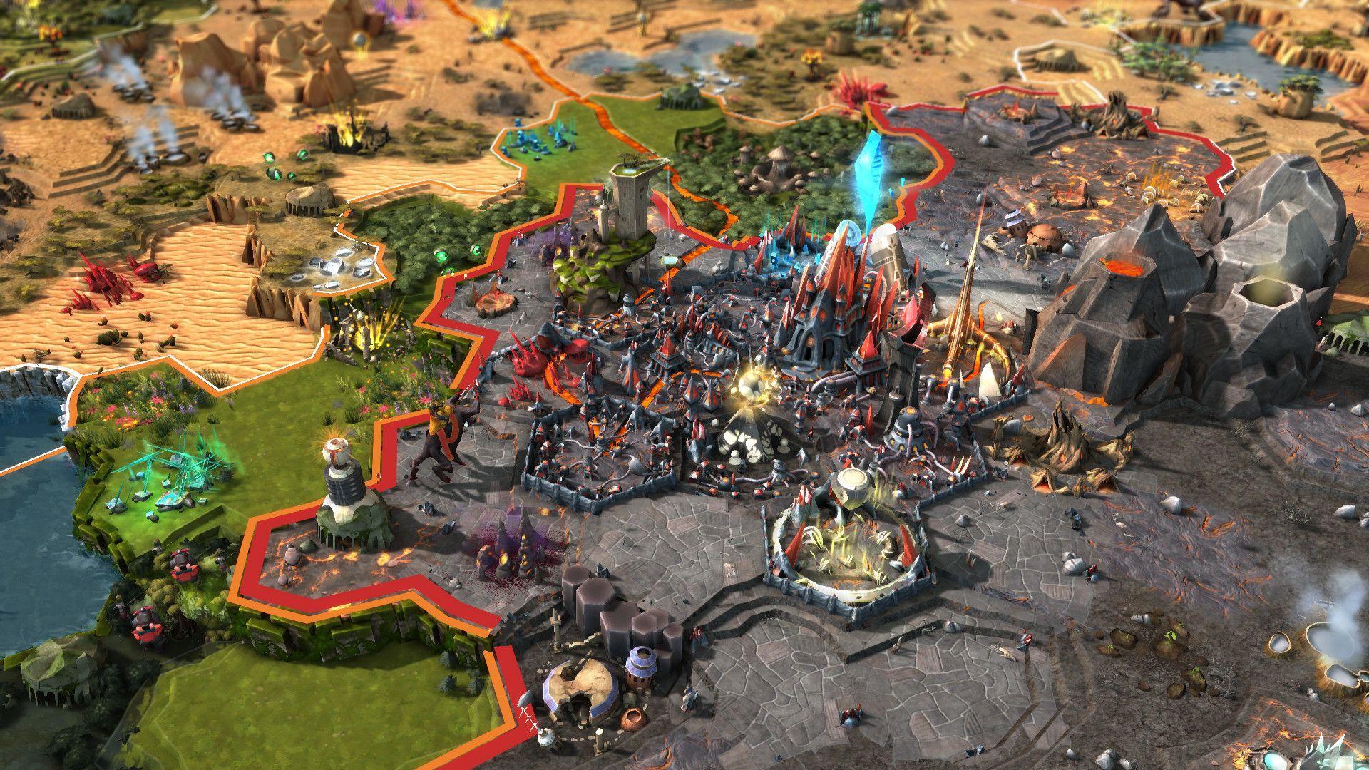 "b79ef77e ArtStation - Art Director of ""Inferno"" DLC of Endless Legend ..."