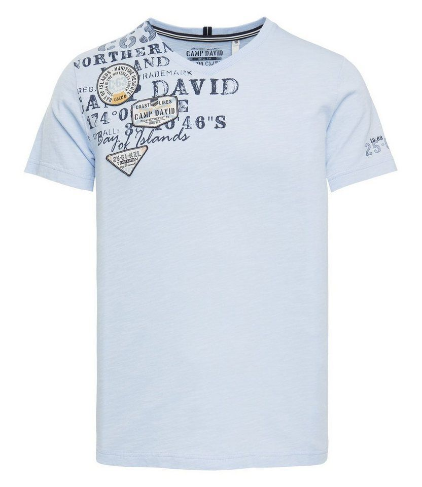aae4c9c4f6ac00 CAMP DAVID T-Shirt für 39