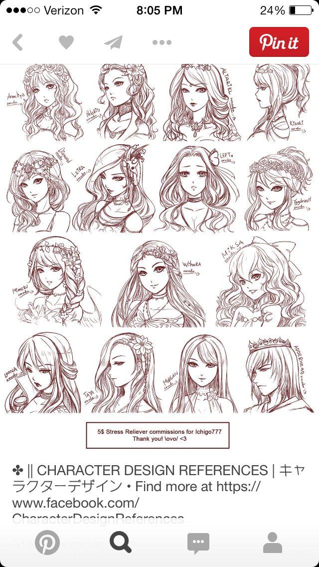 Amazing anime hair