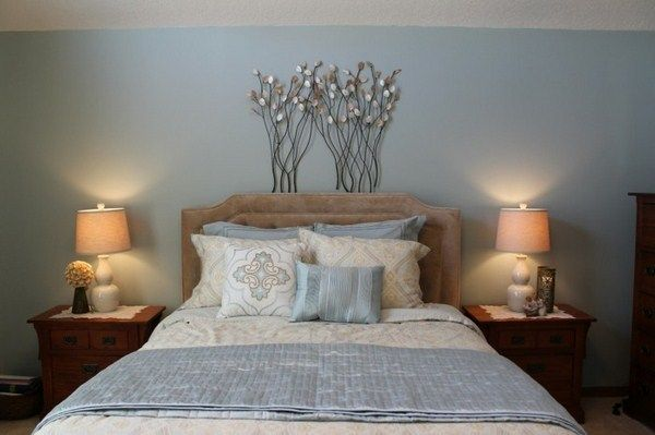 bedroom color blue as the sea | http://room-decorating-ideas.com ...