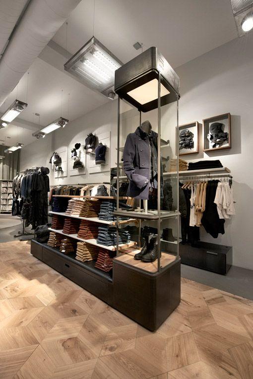 Amsterdam G Star Women Store Opening Retail Interior Design