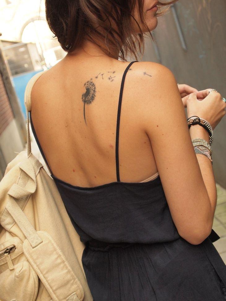 Cute Backshoulder Tattoo Make A Wish Summer Fun Fun Tattoos